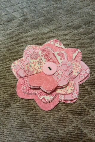 Pinkfabricflower